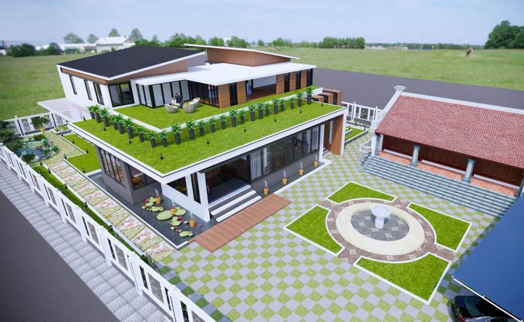 Các bước cơ bản để lên bản vẽ nhà biệt thự hoàn thiện