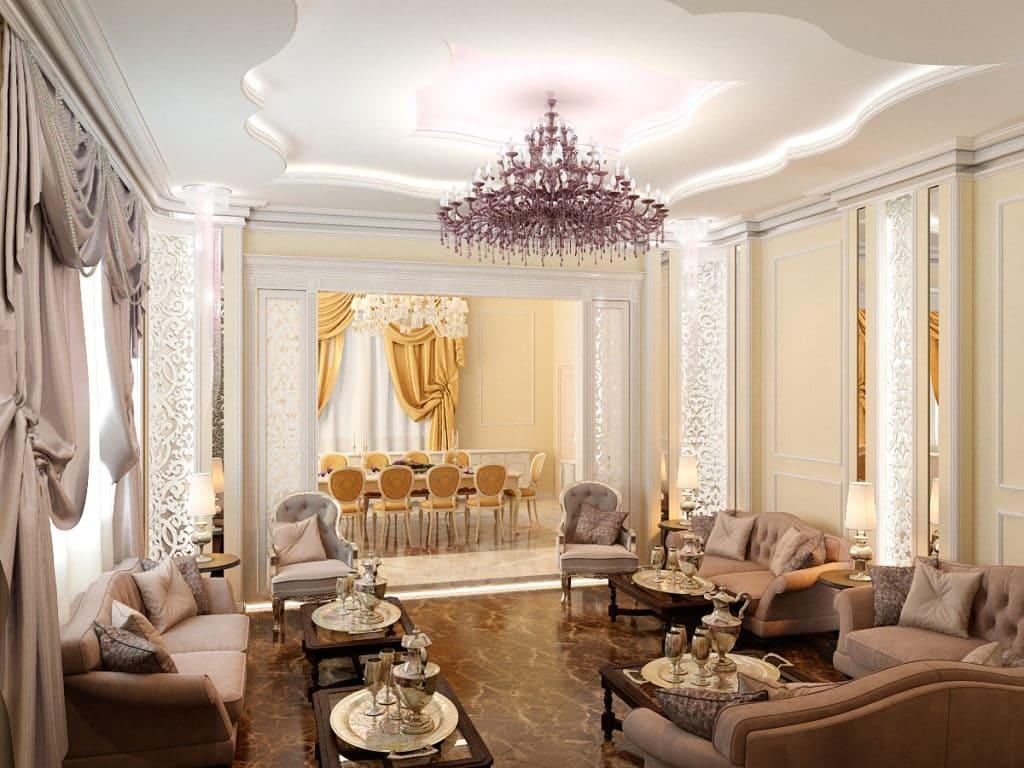 Thiết kế nội thất cho nhà biệt thự