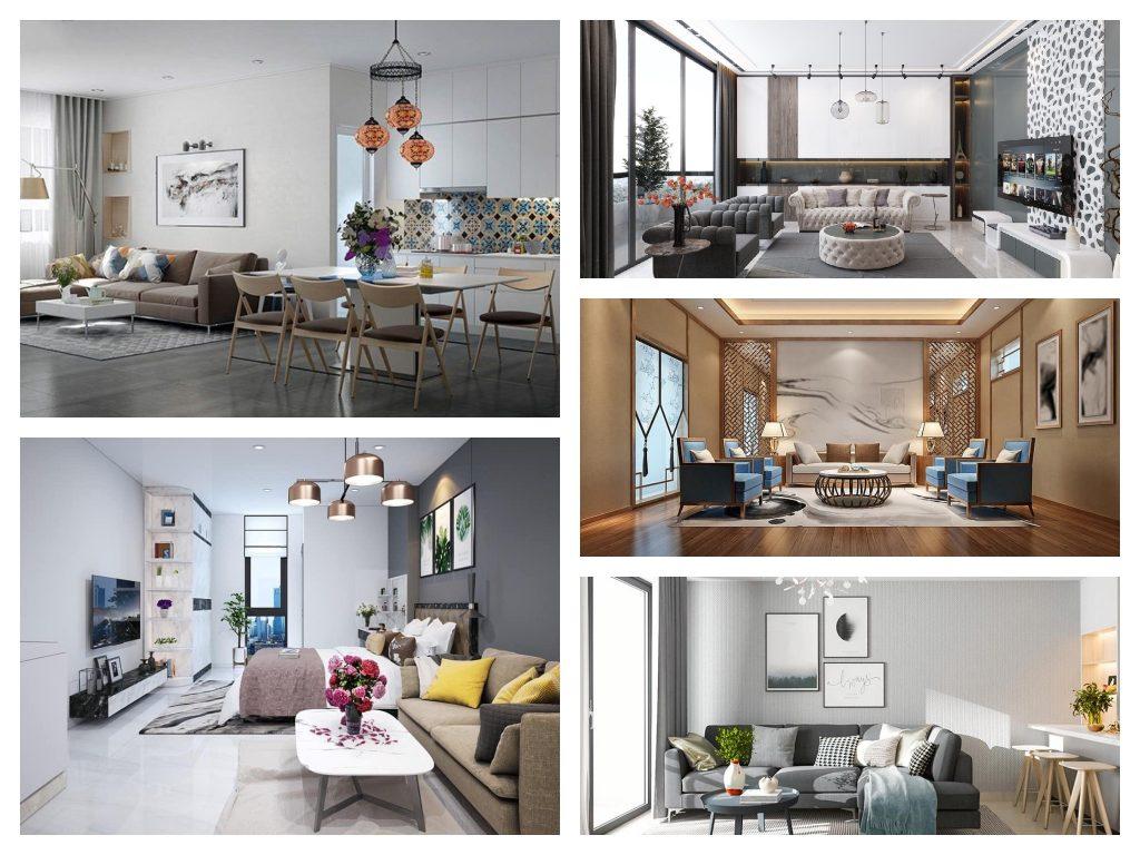 """Top 10 mẫu nội thất chung cư ĐẸP """"thổi hồn"""" cho căn hộ bạn"""