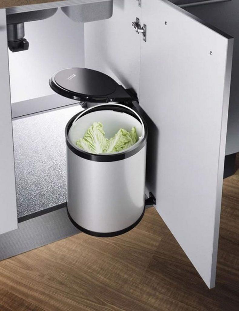 Phụ kiện tủ bếp thùng rác thông minh