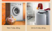 Máy giặt cửa trước và cửa trên loại nào tốt hơn ? Nên chọn loại nào để phù hợp với gia đình mình