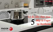 5 lý do nên chọn mua Bếp từ Fagor tại Besthome